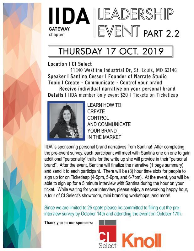 IIDA Leadership Series 2 Part 2