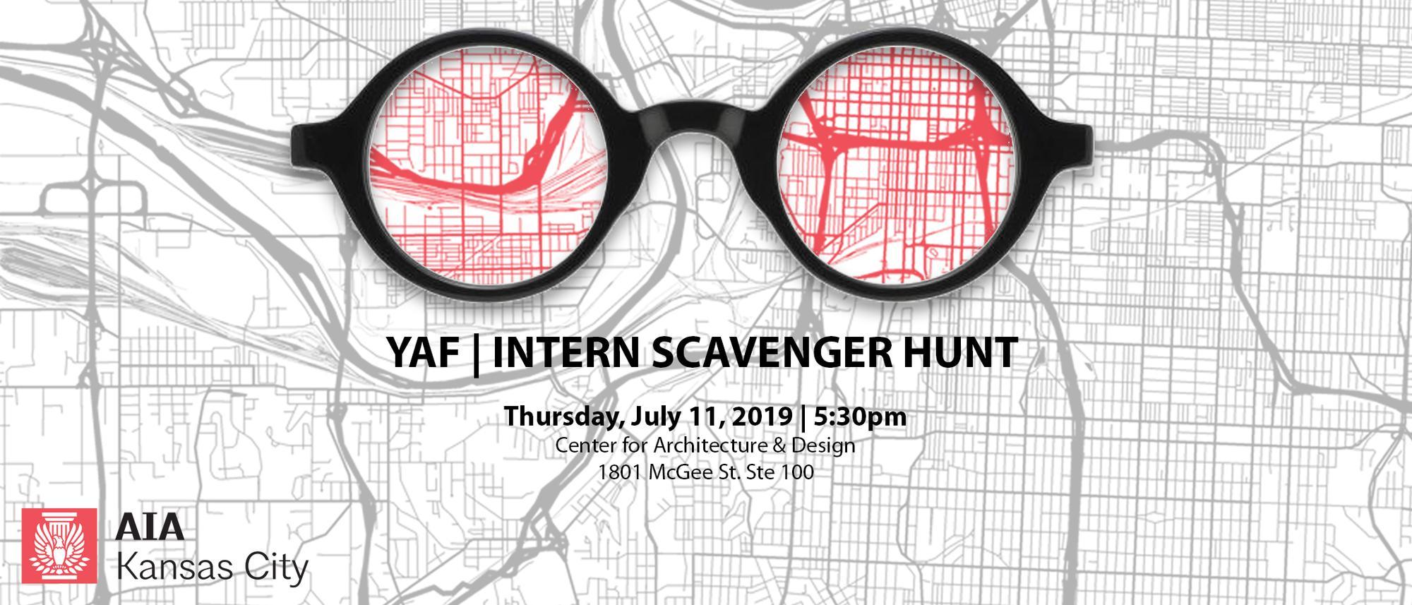 YAF: Intern Scavenger Hunt
