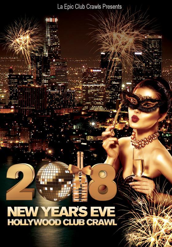 New Years Eve Los Angeles Club Crawl