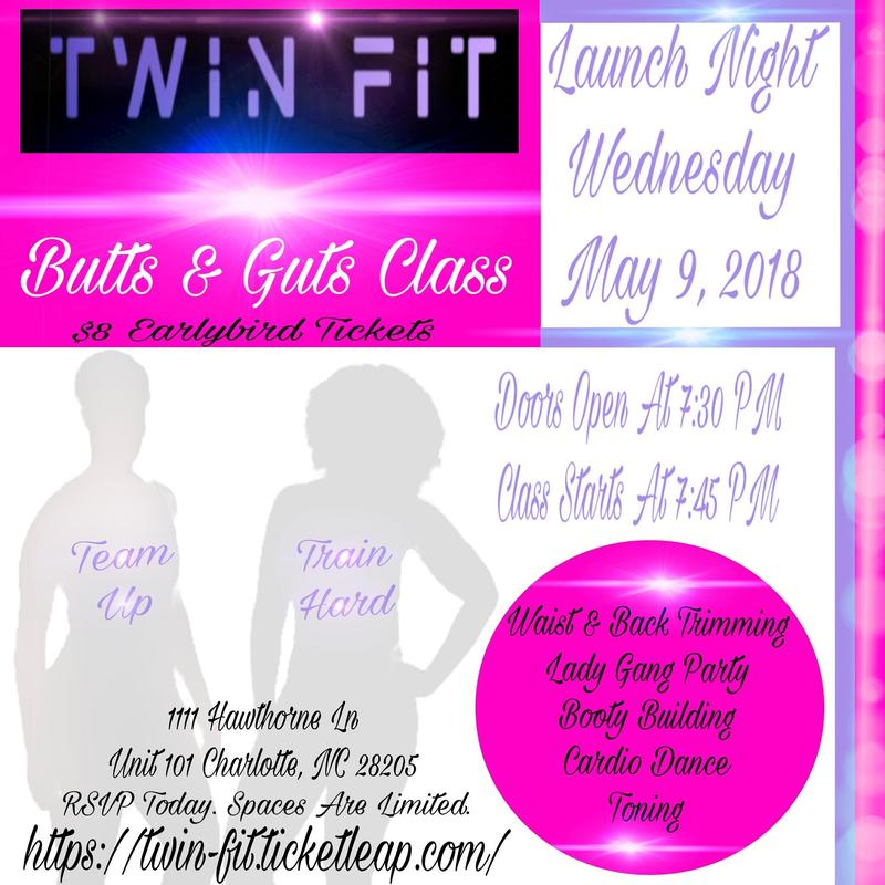 TWIN FIT'S BUTTS AND GUTS CLASS