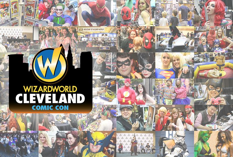 Wizard World CLEVELAND Comic Con & Gaming 2017 VIP Package