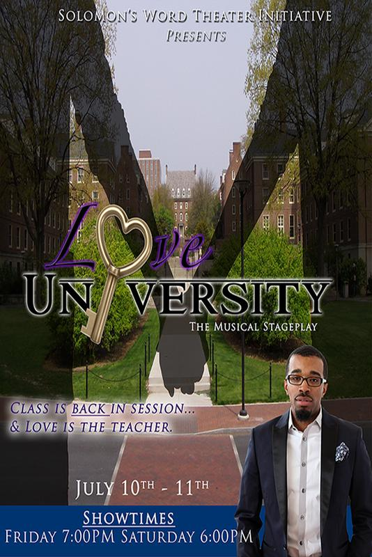 Love University the musical stage play