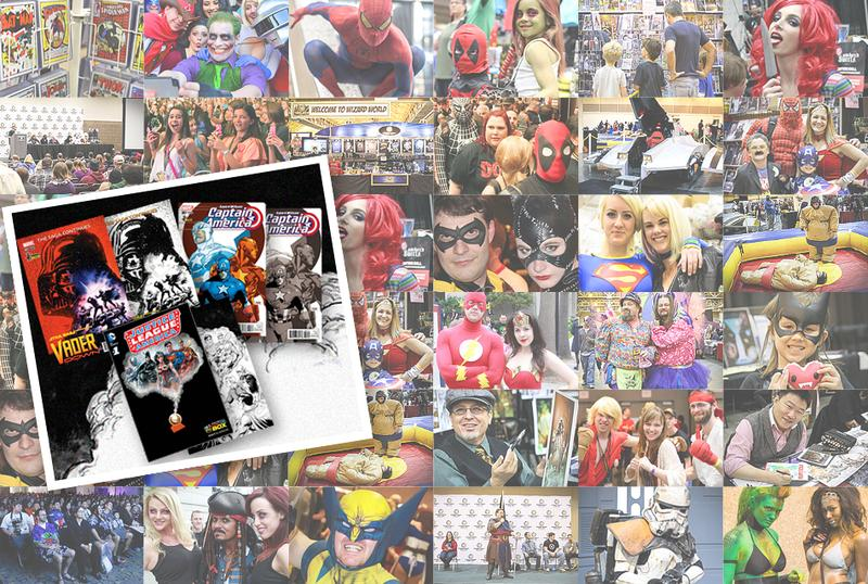 Wizard World NEW ORLEANS Comic Con & Gaming 2017 VIP Package