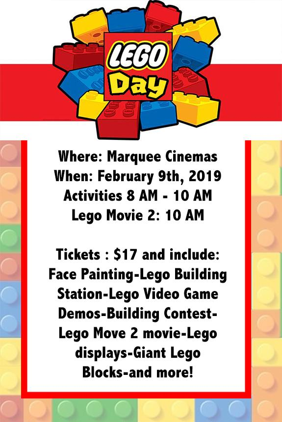 Lego Day Tickets in Beckley, WV, United States