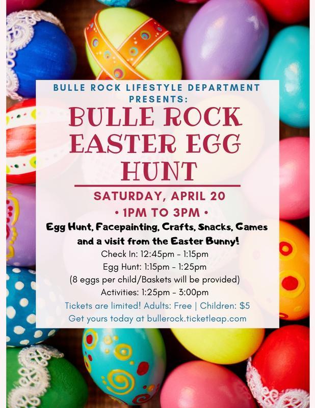 Bulle Rock's Easter Egg Hunt