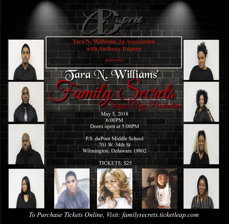 Family Secrets Stage Play Production