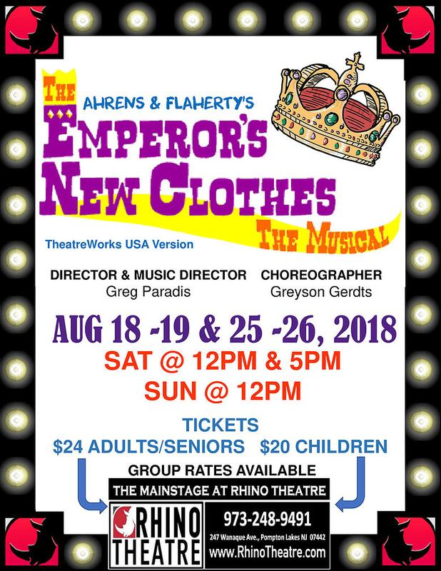 EMPEROR'S NEW CLOTHES @ the Mainstage