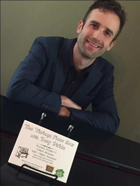 Valentines Day Vintage Piano Hour with Musician Tony Stride