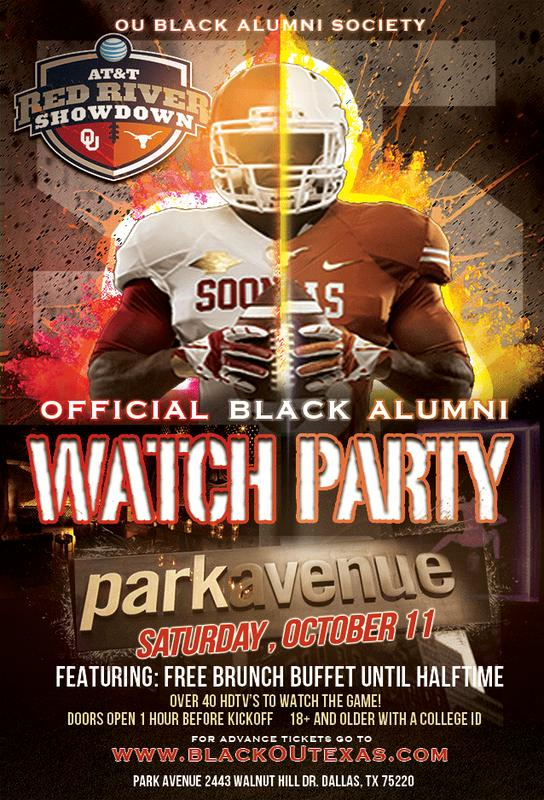 OU vs Texas Black Alumni Weekend 2014