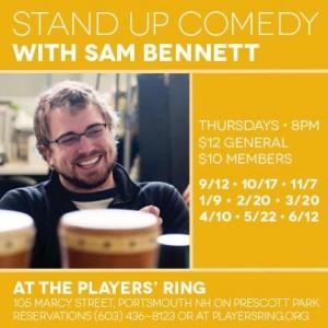 Stand Up Comedy with Sam Bennett