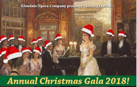 Glendale Opera Company Christmas Gala 2018