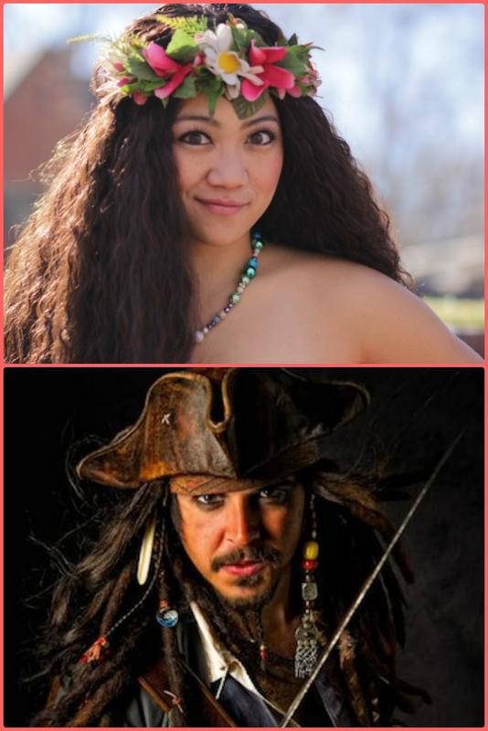 Fairytale Friday with Polynesian Princess and the Pirate Captain!