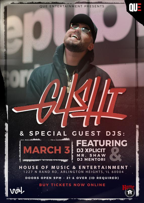 G4SHI & Special Guest DJ's In Chicago 03/03/17