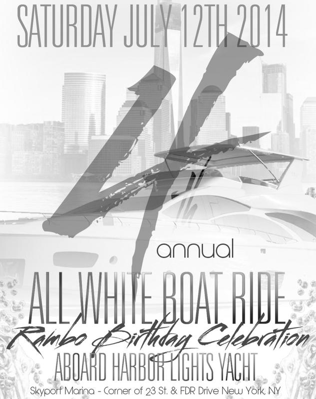 4th Annual All White Affair:Rambo Birthday Celebration