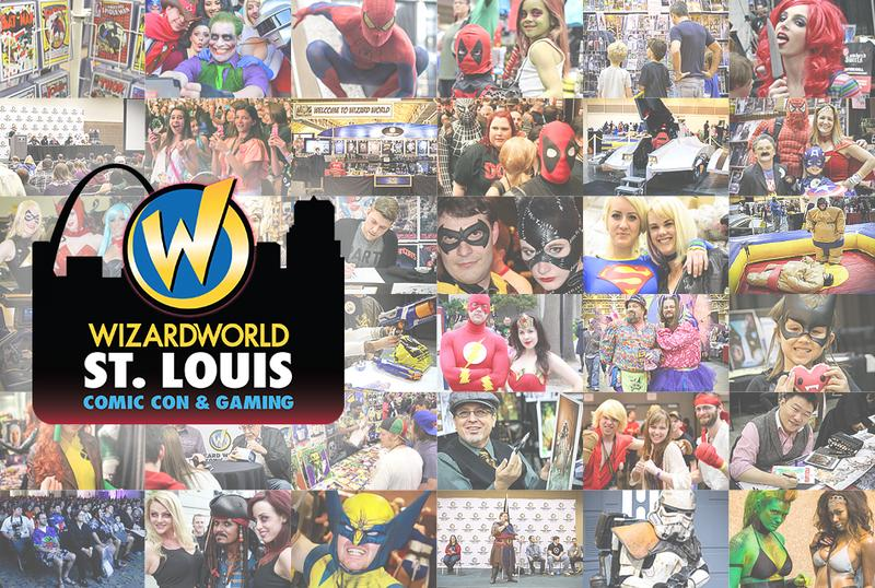 Wizard World Comic Con ST. LOUIS 2016 VIP Package