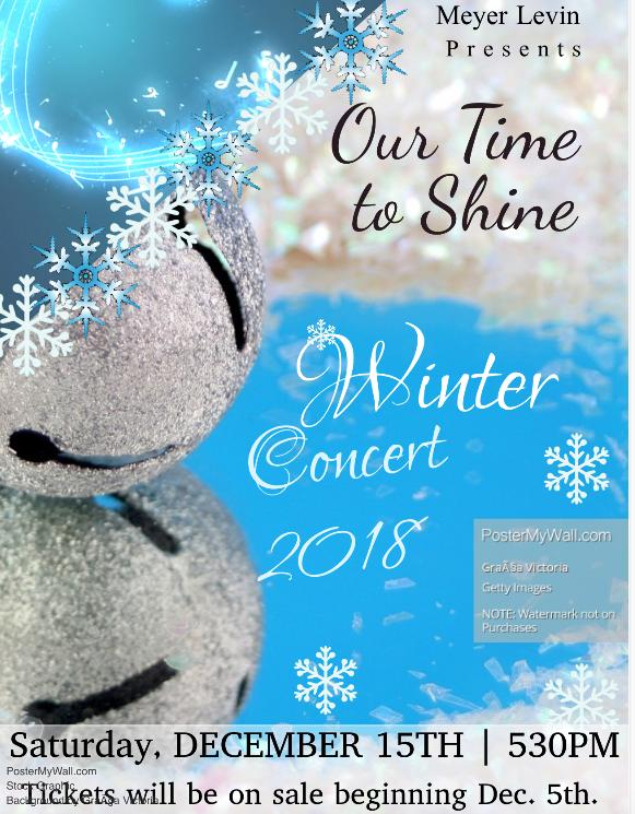 Winter Concert 2018 Our Time to Shine