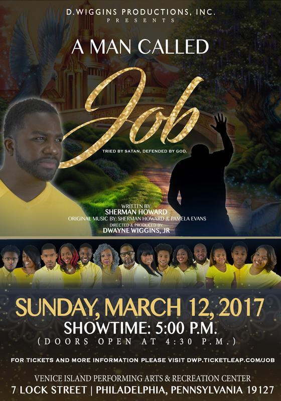D. Wiggins Productions presents A MAN CALLED JOB