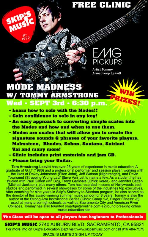 FREE MODE MADNESS CLINIC W/ TOMMY ARMSTRONG