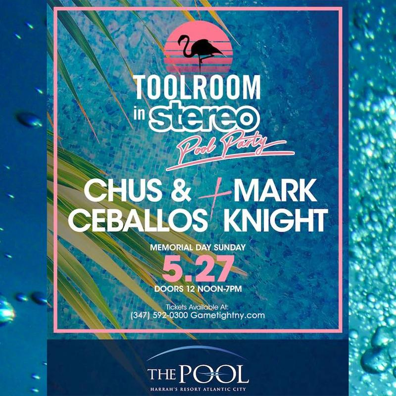 Harrahs Pool Party Tickets