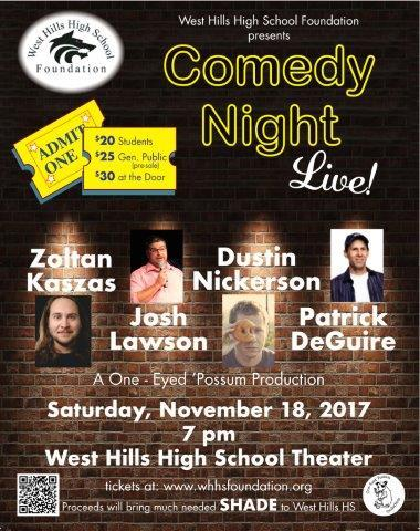 Comedy Night Live