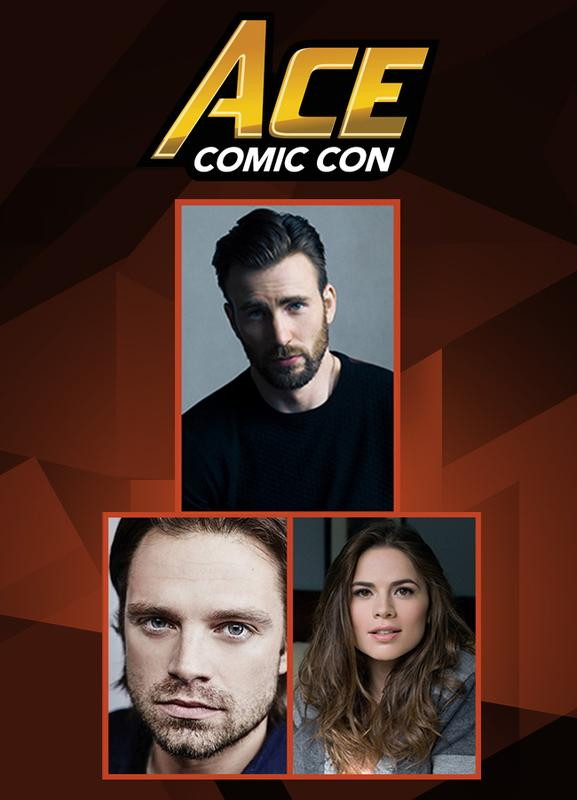CAPTAIN AMERICA: THE FIRST AVENGER VIP @ ACE Comic Con ARIZONA 2018