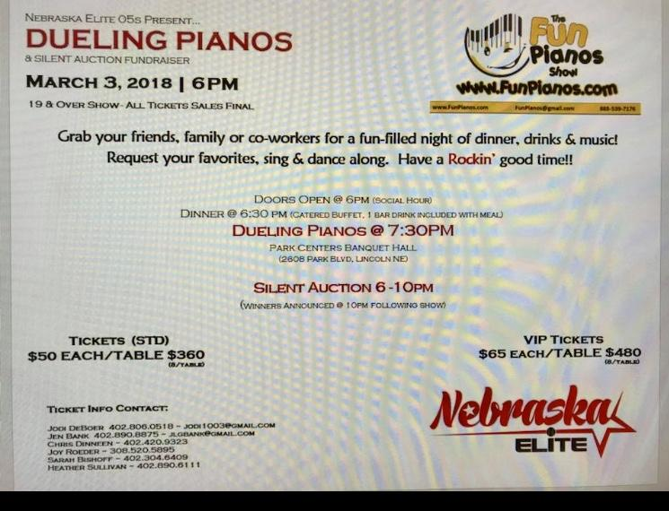 Nebraska Elite presents Fun Pianos Show