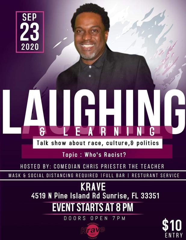 Laughing and Learning Talk Show Series: Let's Talk About Race, Culture & Politics