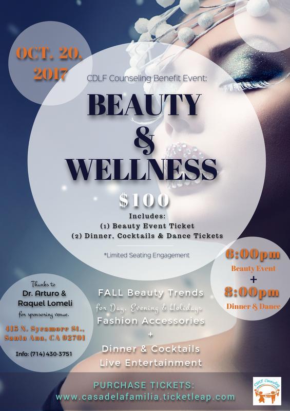 Beauty & Wellness Benefit Event