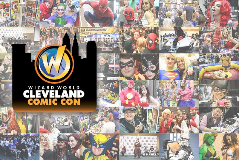 Cleveland Comic Con 2015 Wizard World Convention Admission