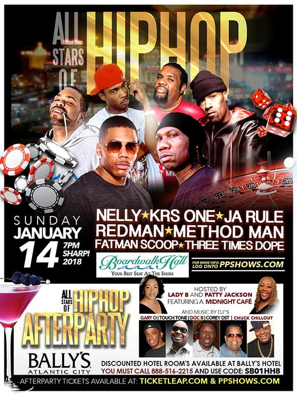 PLATINUM SHOWS OFFICIAL ALLSTARS OF HIP HOP AFTERPARTY