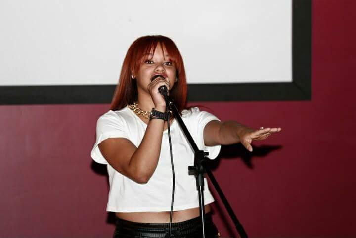Ja'Nice Lizette Performing Live with TINK