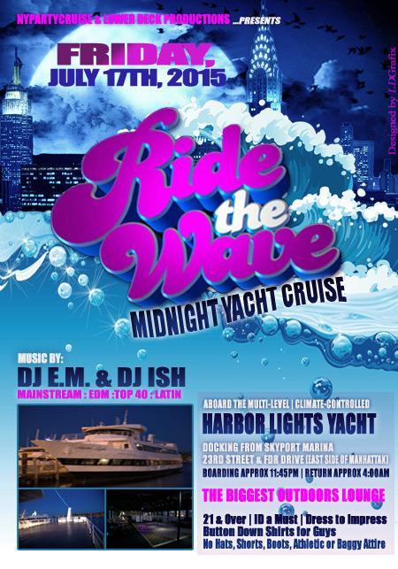 Scream & Shout Midnight Yacht Cruise