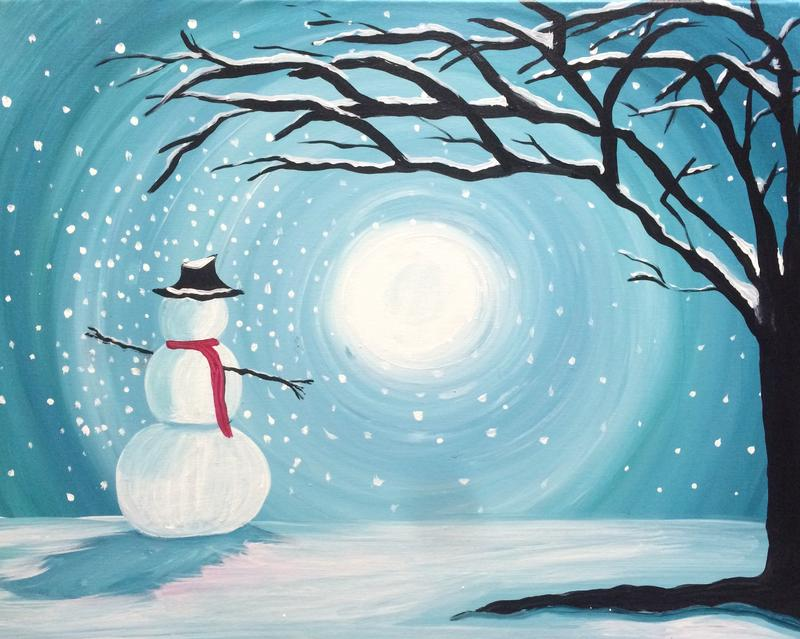 December 29th Cocktails & Canvases