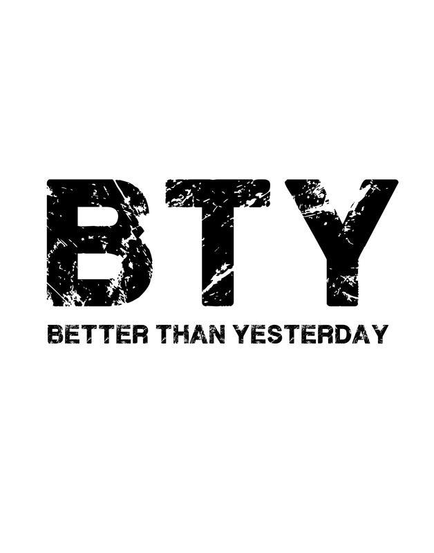 Better Than Yesterday (Seminar)