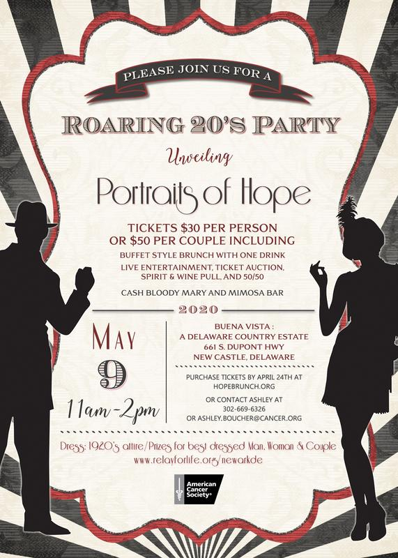Portraits of Hope - Roaring 20's Party