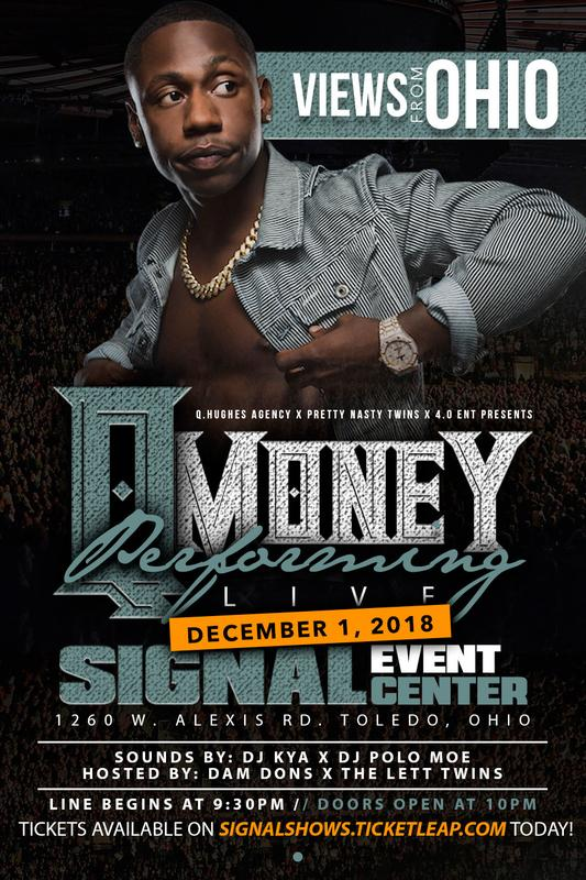 QMoney Performing Live @ Signal Event Center