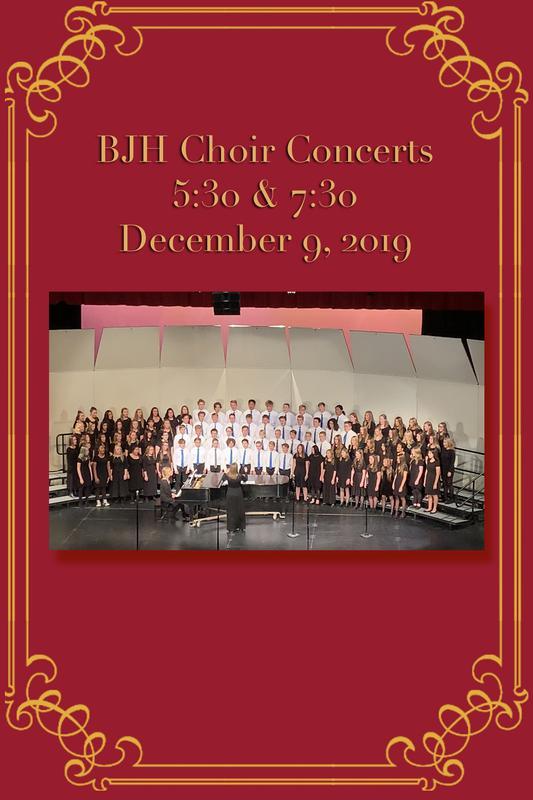 5:30 pm Choir Concert