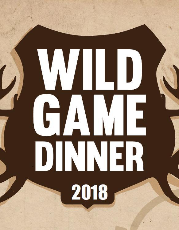 2018 Wild Game Dinner