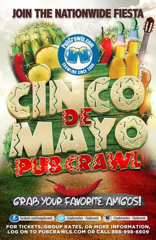 7th Annual Cinco de Mayo Pub Crawl New York