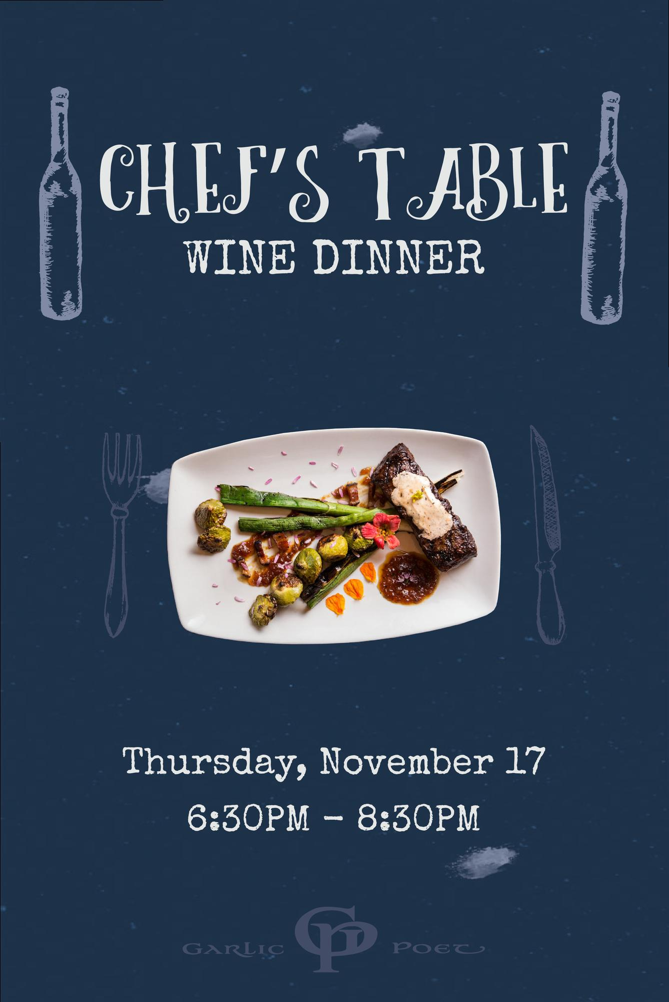 New Cumberland (PA) United States  city pictures gallery : Chef's Table Wine Dinner Tickets in New Cumberland, PA, United States