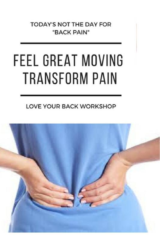 Love Your Back Workshop