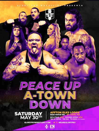 Glory Pro Wrestling: Peace Up, A-Town Down