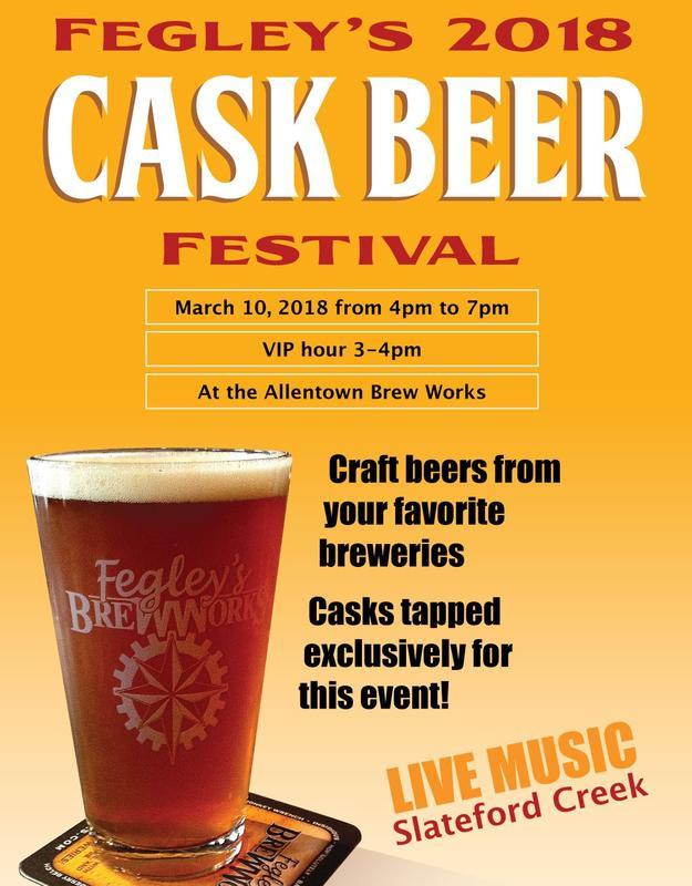 Fegley's Brew Works Cask Beer Festival 2018