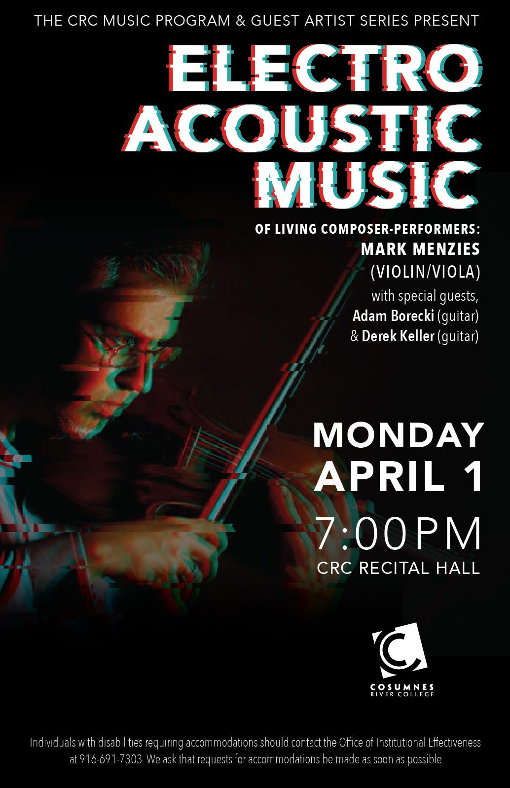 The CRC Music Program & Guest Artist Series Present Tickets