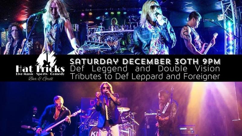 Pre-NYE Concert: Def Leggend and Double Vision (Foreigner)