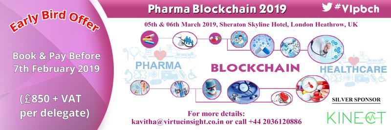 Pharma Blockchain 2019
