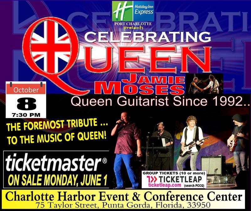 Celebrating Queen Sponsorship Menu- Port Charlotte, FL