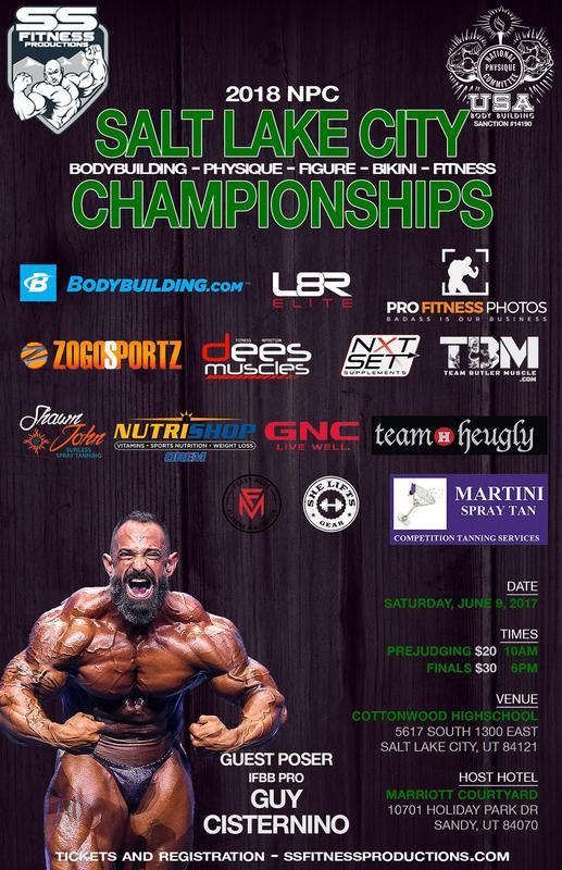 2018 NPC Salt Lake City Championships Finals