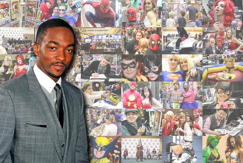 Anthony Mackie VIP Experience @ Chicago Comic Con 2014
