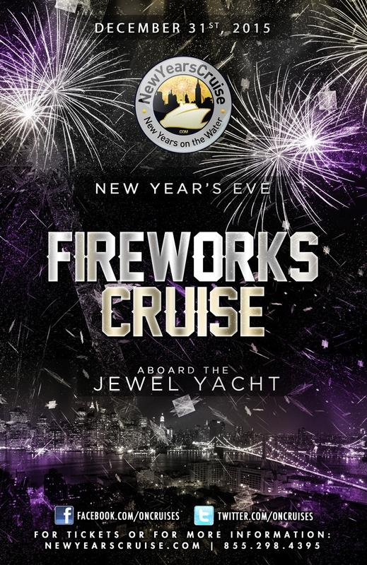 New Year's Eve Fireworks Party Cruise aboard The Jewel Yacht